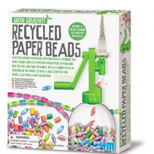 4M - Green Creativity - Recycled Paper Beads (4588)