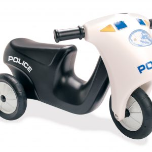 Dantoy - Police Scooter with Rubberwheels (3333)