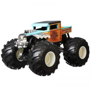 Hot Wheels - Monster Trucks 1:24 - Bone Shaker (GJG76)