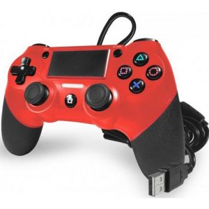 TTX Playstation 4 Champion Wired Controller Red